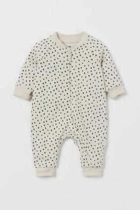 H&M Sweatshirt Jumpsuit - Beige