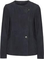 Theory Venizka bonded suede jacket