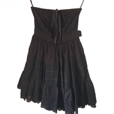 Miu Miu Black Cotton Dress