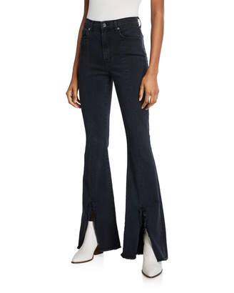 7 For All Mankind Exaggerated Kick-Flare Jeans