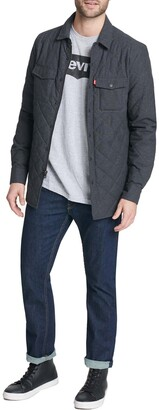 Levi's Diamond Quilted Shirt Jacket