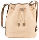 Longchamp 2.0 Large Leather Bucket Bag,