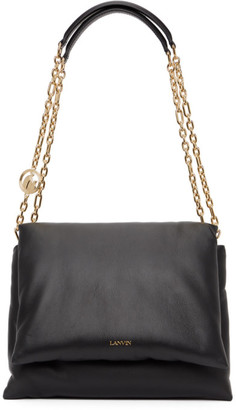 Lanvin Black Medium Sugar Shoulder Bag
