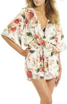 Sunseeker Floral Wrap Playsuit