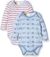 Pumpkin Patch Baby Boys 0-24m 2pk Long Sleeve Bodysuit,0-3 Months