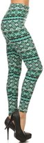 LA12ST Women's Printed Leggings Tights Stretch Quality Brand