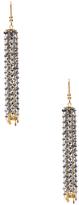 Amrita Singh Lubna 22K Yellow Gold & Sapphire Earrings