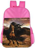 CUIPO JUCPOI Boys'&Girls' Unicorn Horse School Backpacks Book Bags