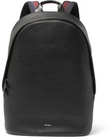 Paul Smith Textured-leather Backpack - Black
