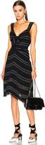 Proenza Schouler Pin Stripe Crepe Cami Dress
