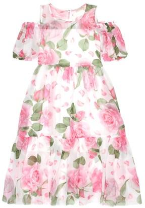 MonnaLisa Floral-printed dress