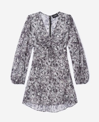 The Kooples Short dress with gathered bust