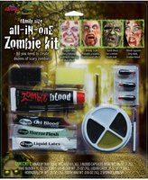 Fun World Costumes Zombie Horror Makeup Kit