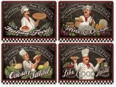 Pimpernel Chef's Specials Placemats (Set of 4)