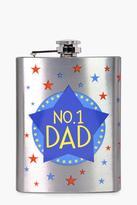 Boohoo No.1 Dad Hip Flask
