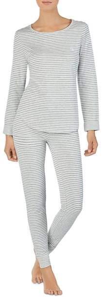 Thumbnail for your product : Ralph Lauren Double-Knit Essential Long PJ Set