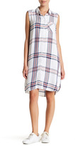 BeachLunchLounge Skylar Plaid Shirt Dress
