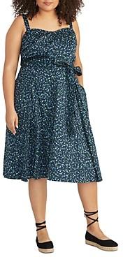 Rachel Roy Plus Clara Ditsy Floral Dress