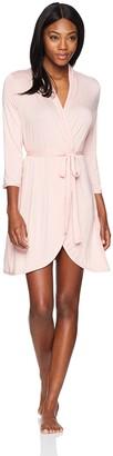 Mae Amazon Brand Women's Knit Wrap Robe