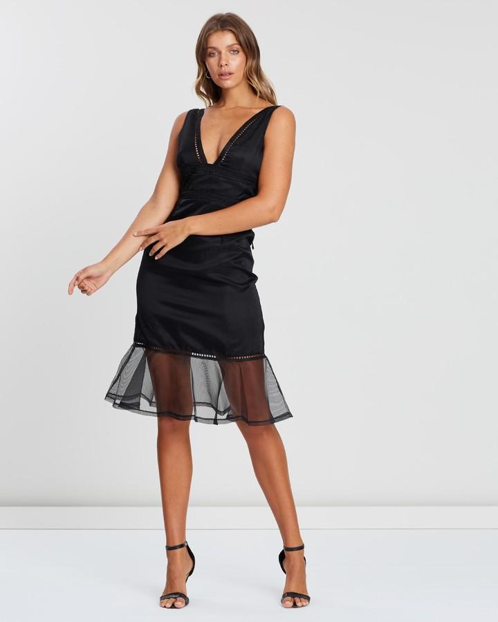 Atmos & Here Ollie Organza Midi Dress