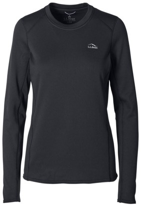 L.L. Bean Women's L.L.Bean Heavyweight Base Layer Crew, Long Sleeve