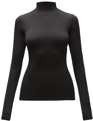 The Row Ludek High-neck Top - Black