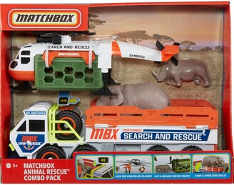 Mattel Matchbox Animal Rescue Combo Pack Vehicles