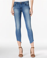DL1961 DL 1961 Margaux Uneven-Hem Acetate Wash Skinny Jeans