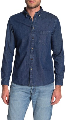 Levi's Levis Made And Crafted Denim Standard Fit Long Sleeve Shirt