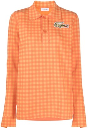 Lacoste Logo Check Polo Shirt