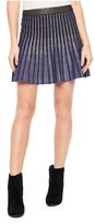 Juicy Couture Pleated Dazzle Skirt