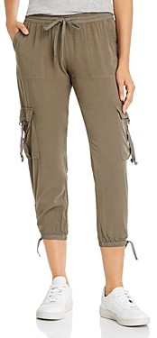 PJ Salvage Cropped Cargo Jogger Pants