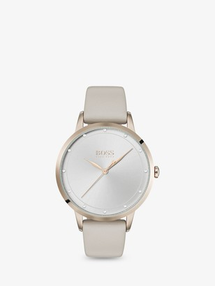 HUGO BOSS 1502461 Women's Twilight Leather Strap Watch