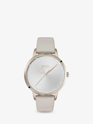HUGO BOSS 1502461 Women's Twilight Leather Strap Watch