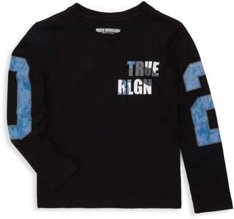 True Religion Little Boy's & Boy's Long Sleeve Graphic Tee