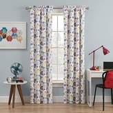 Waverly Kids Wind Me Up 63-Inch Rod Pocket Room Darkening Window Curtain Panel in Denim