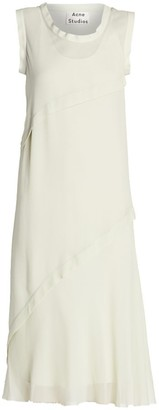 Acne Studios Georgette Midi Dress