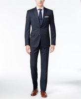 Andrew Marc Men's Classic-Fit Navy Tic Suit