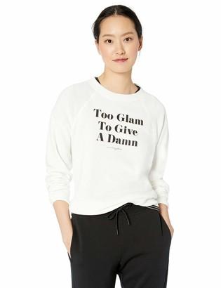 Betsey Johnson Women's Too Glam Sweatshirt