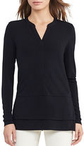 Lauren Ralph Lauren Petite Layered Jersey Top