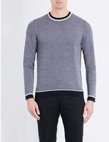 Salvatore Ferragamo Tipped wool jumper