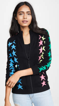 ONE by Threads of PRVLG Star Cashmere Zip Up