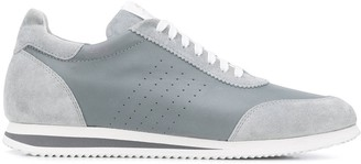 Brunello Cucinelli Suede-Panel Low-Top Sneakers