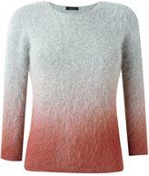 Roberto Collina degradé knit sweater