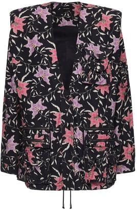 Isabel Marant Galdino Printed Cotton Jacket