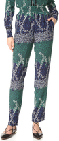 Yigal Azrouel Trellis Printed Pants