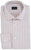 Ermenegildo Zegna Men's Striped Cotton Dress Shirt