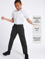 Marks and Spencer PLUS 2 Pack Boys' Easy Dressing Trousers