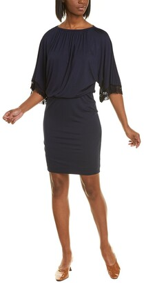 Trina Turk Bird Of Paradise Blouson Dress