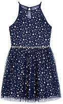 IZ Amy Byer Girls 7-16 IZ Amy Byer Foil Star Dress